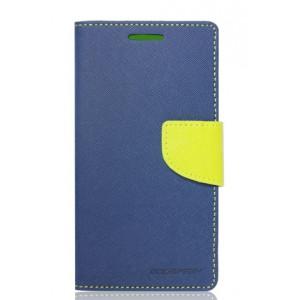 Púzdro Goospery Mercury Fancy Diary  Samsung Galaxy S6 edge plus modrá látka