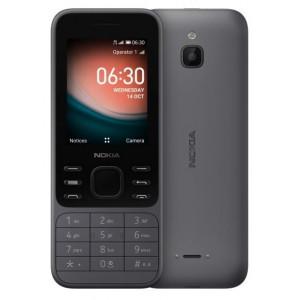 Nokia 6300 4G, Dual SIM, šedá