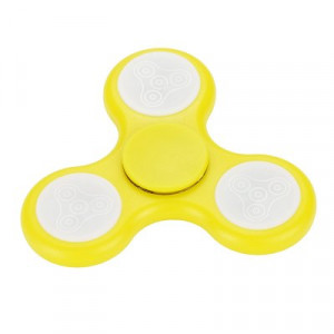 Fidget Spinner LED 1 Žlutý