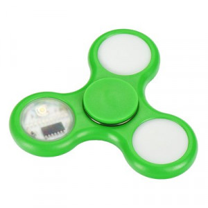 Fidget Spinner LED 5 Zelený