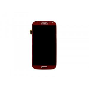 LCD displej Samsung Galaxy S4 i9505 LCD displej a dotyková plocha Red