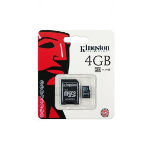 Kingston micro SDHC 4GB Class 4