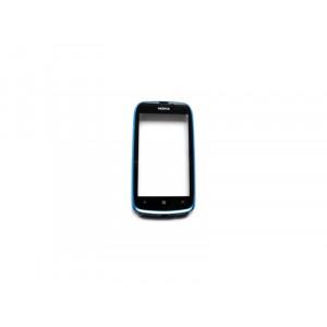 Nokia Lumia 610 Cyan dotyková doska + predný kryt