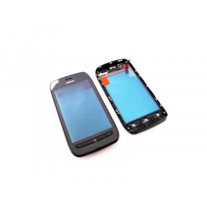 Nokia Lumia 710 Black dotyková doska + predný krytNokia Lumia 710 Black dotyková doska + predný kryt