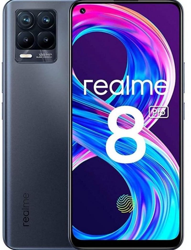 Realme 8 Pro Dual SIM 8GB/128GB Punk Black