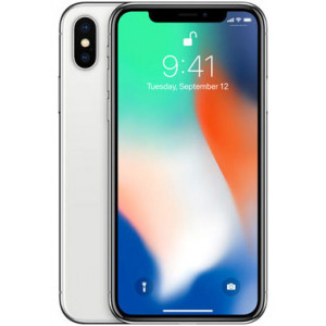 Apple iPhone X 64GB Silver  CZ Distribuce