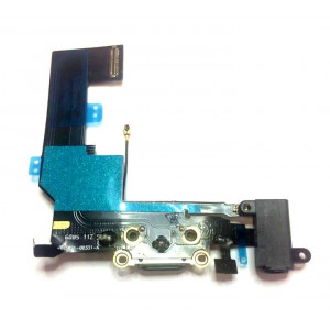 iPhone SE Flex Kábel vč. nabíjacieho  Audio Konektora Black