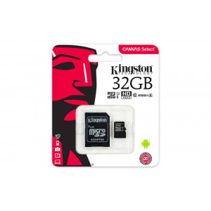 microSDHC 32GB Kingston Class 10 w/a (EU Blister)