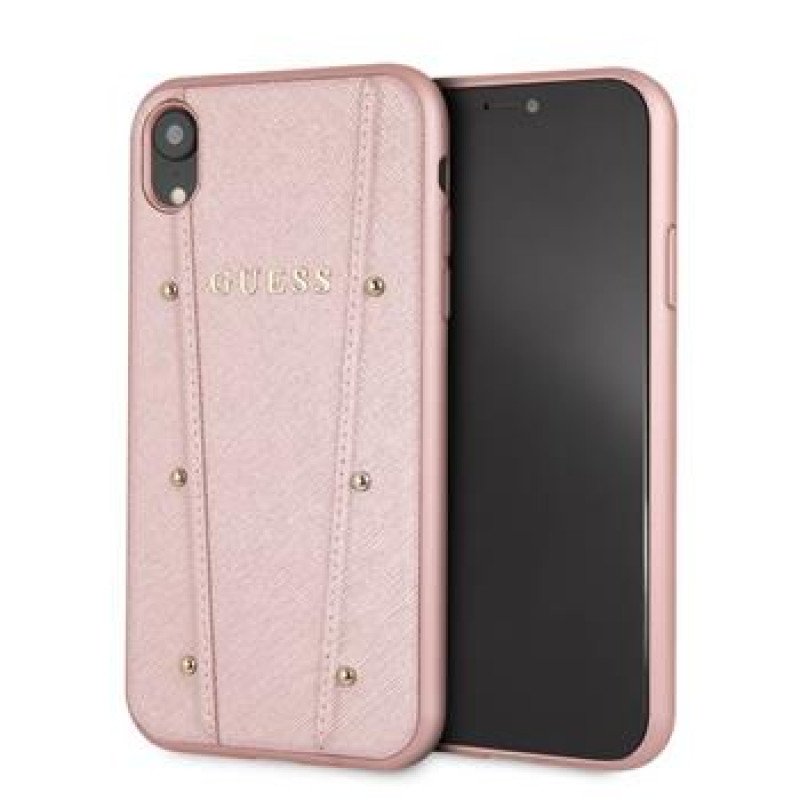 GUHCI61KAILRG Guess Kaia Hard Case Rose Gold pro iPhone XR