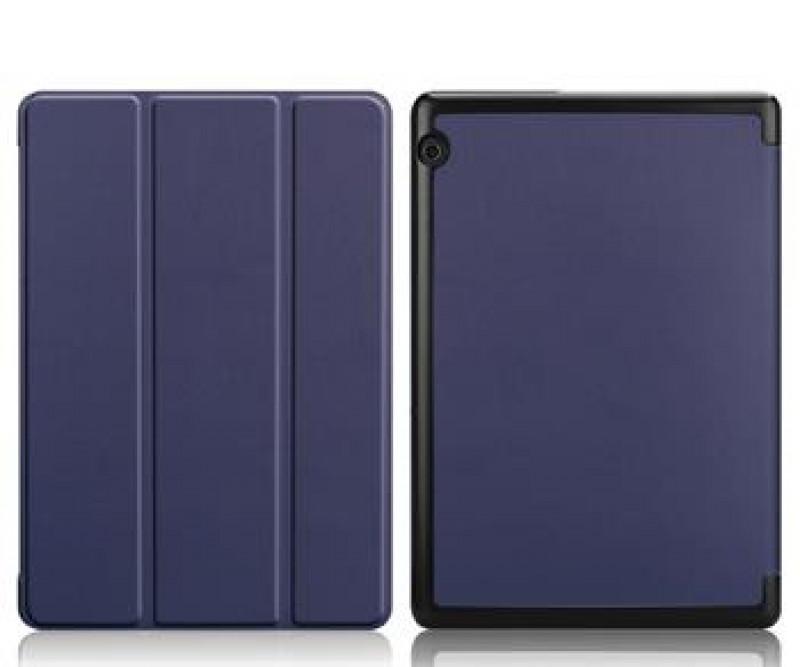 Tactical Book Tri Fold Pouzdro pro Huawei MediaPad T5 10 Blue