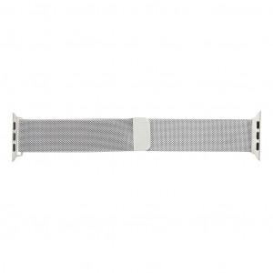 Handodo Loop Magnetický Kovový Pásek pro iWatch 4 44mm Silver (EU Blister)