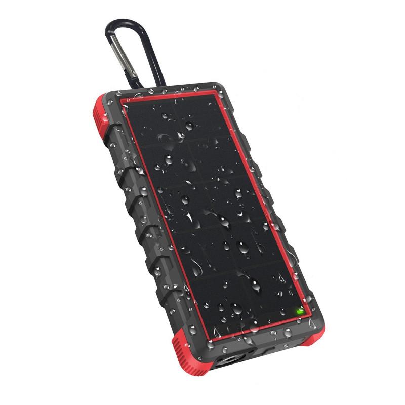 OUTXE Savage IP67 Voděodolný Solární PowerBank Type C/microUSB 24000mAh (EU Blister)