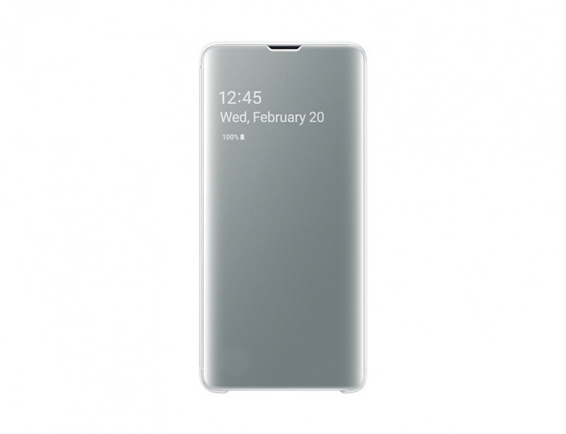 EF-ZG973CWE Samsung Clear View Cover White pro G973 Galaxy S10 (EU Blister)