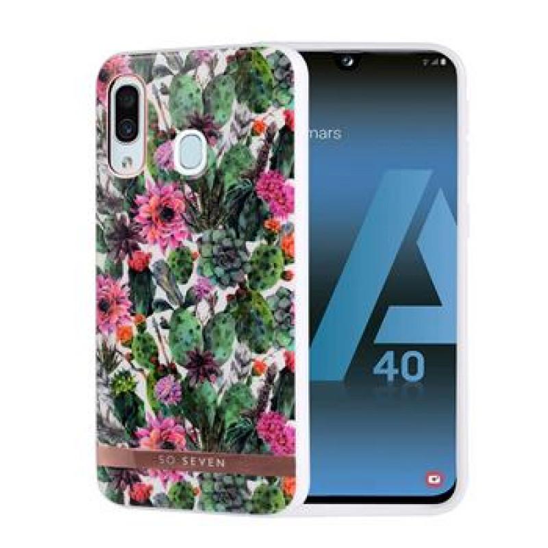 SoSeven Coque Mexico Silikonový Kryt pro Samsung Galaxy A40 Fleur Rose (EU Blister)