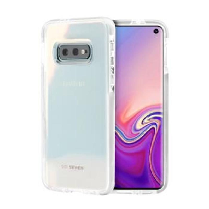 SoSeven Pure Silikonový Kryt pro Samsung Galaxy S10e White(EU Blister)