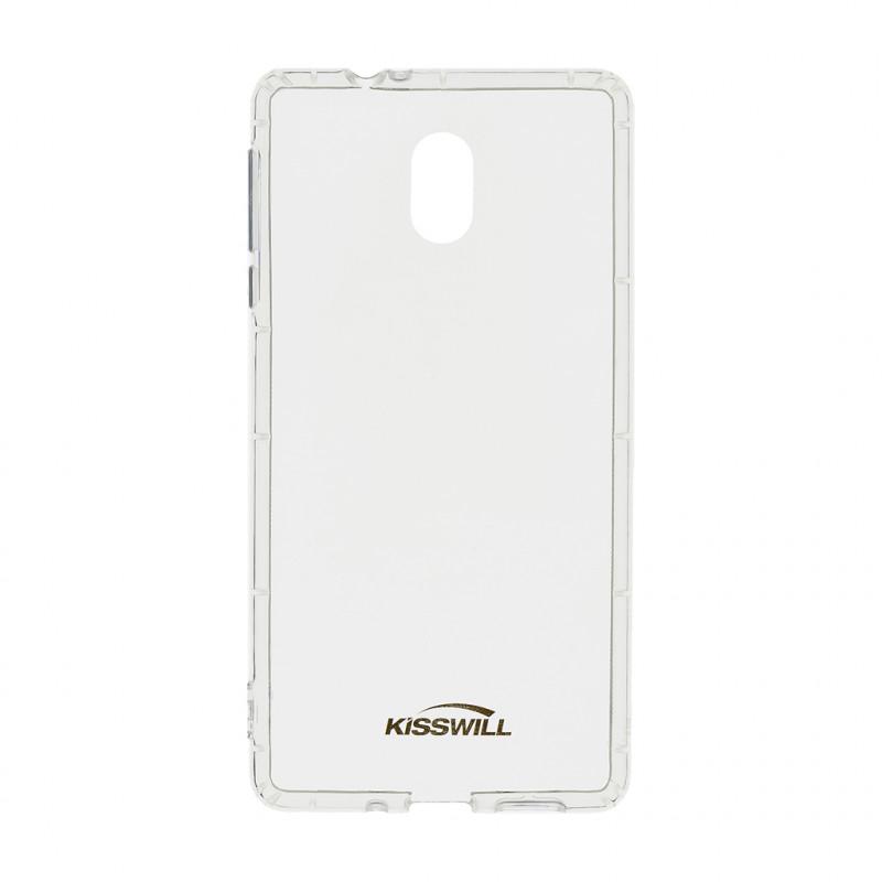 Kisswill TPU Pouzdro Transparent pro Motorola One Action