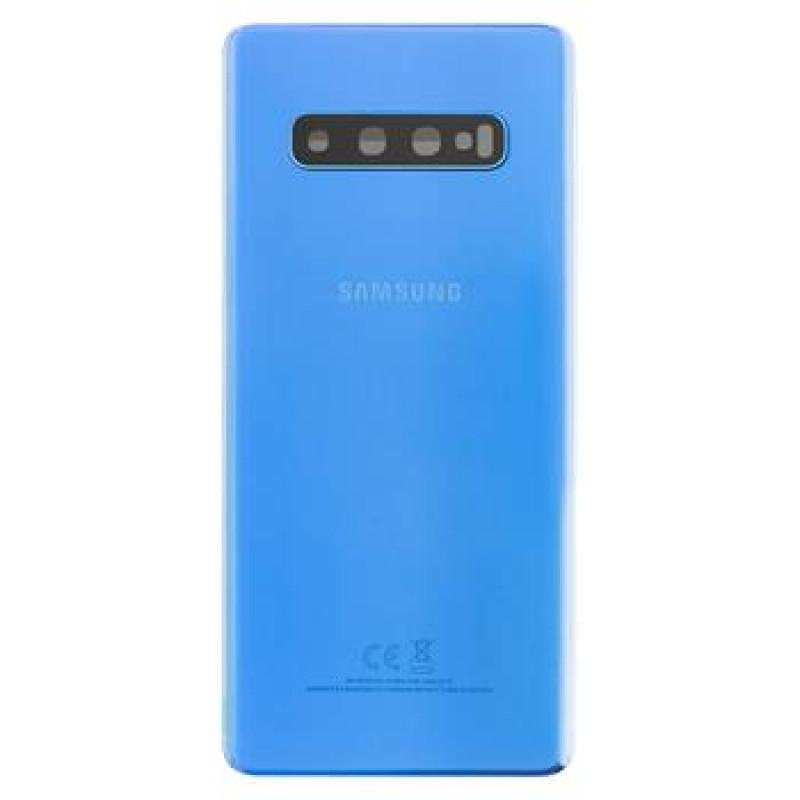 Samsung G975 Galaxy S10+ Kryt Baterie Prism Blue (Service Pack)