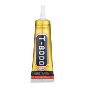 T-8000 Lepidlo na Instalaci Displeje Transparent 50ml