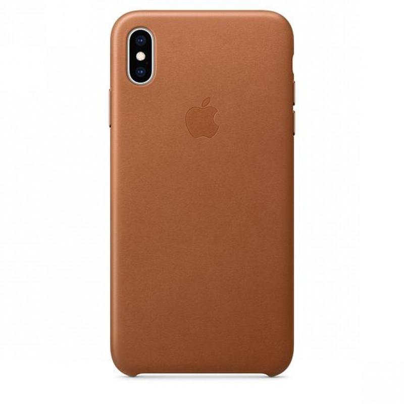 MRWP2ZM/A Apple Kožený Kryt pro iPhone X/XS Saddle Brown (EU Blister)