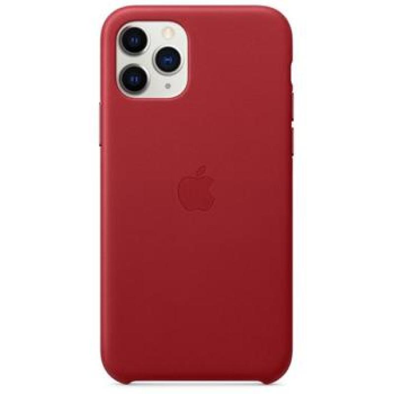 MWYF2ZM/A Apple Kožený Kryt pro iPhone 11 Pro Red (EU Blister)