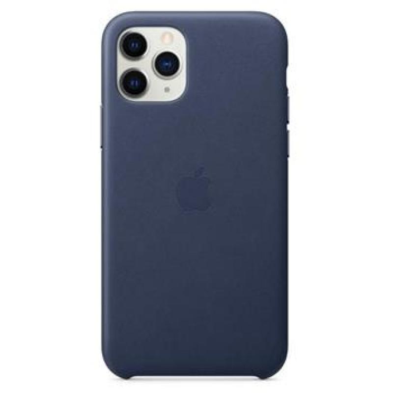 MWYG2ZM/A Apple Kožený Kryt pro iPhone 11 Pro Midnight Blue (EU Blister)