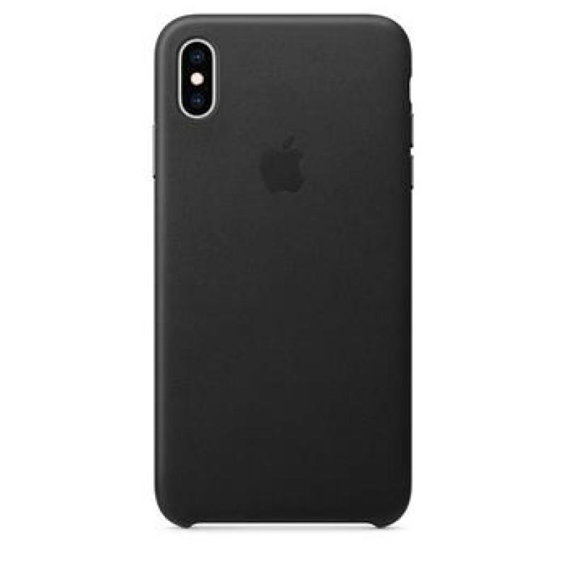 MRWM2ZM/A Apple Kožený Kryt pro iPhone XS Black (EU Blister)