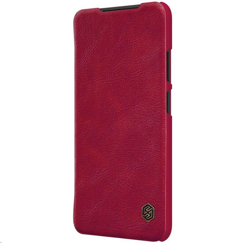 Nillkin Qin Book Pouzdro pro Xiaomi Redmi Note 10 4G/10s Red
