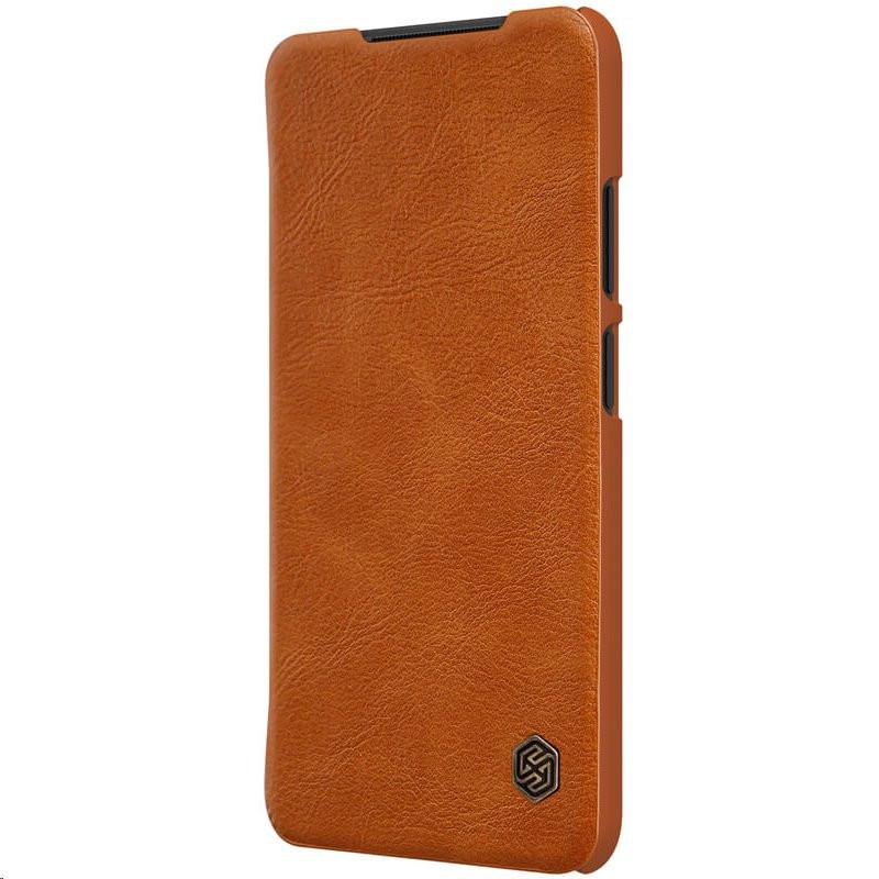 Nillkin Qin Book Pouzdro pro Xiaomi Redmi Note 10 4G/10s Brown