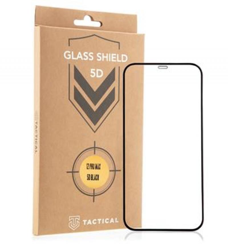Tactical Glass Shield 5D AntiBlue sklo pro Apple iPhone 12 Pro Max Black