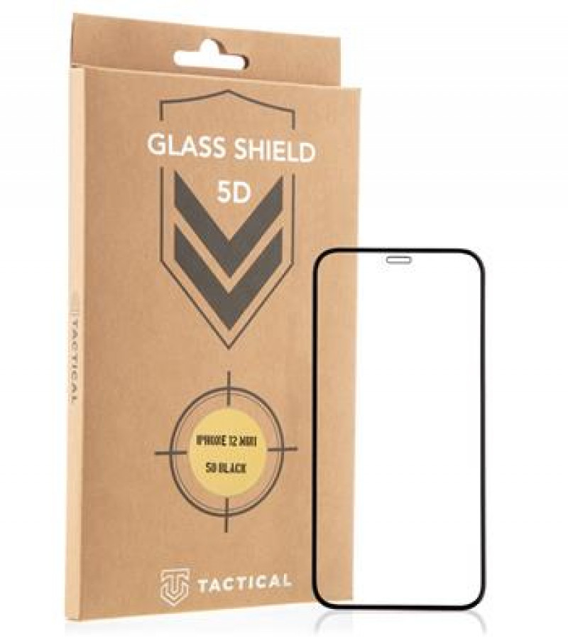 Tactical Glass Shield 5D AntiBlue sklo pro Apple iPhone 13 Mini Black