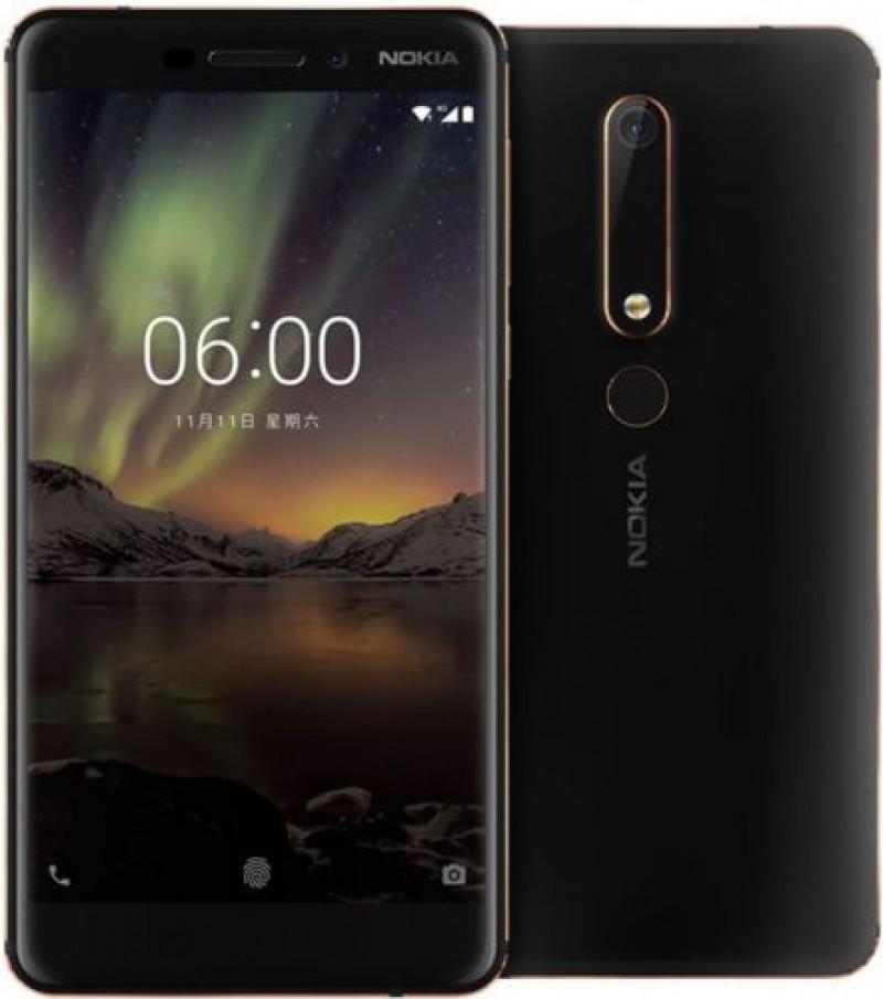 Nokia 6.1 Dual SIM Black Třída C