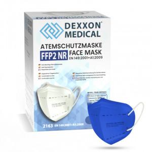 DEXXON MEDICAL Respirátor FFP2 NR modrý 1ks/bal