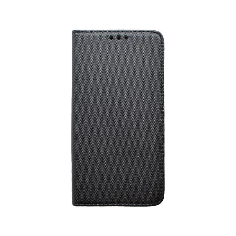 Knižkové puzdro Samsung Galaxy A51 čierne, vzorované