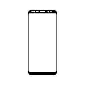 Ochranné Q sklo Samsung Galaxy Note 9 3D čierne