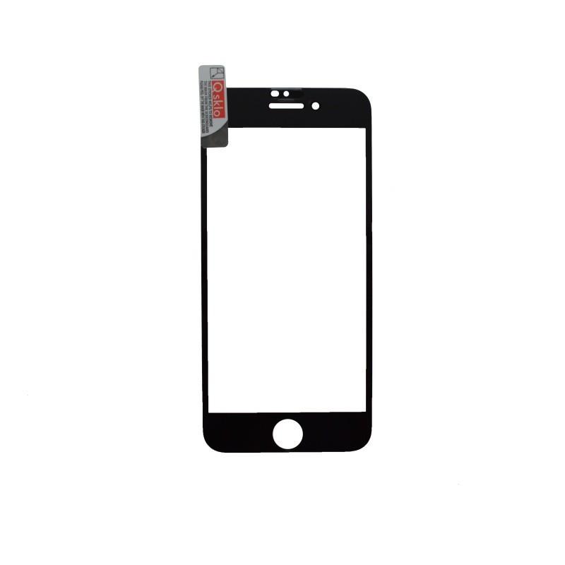 Ochranné sklo iPhone 7/8 čierne, full glue