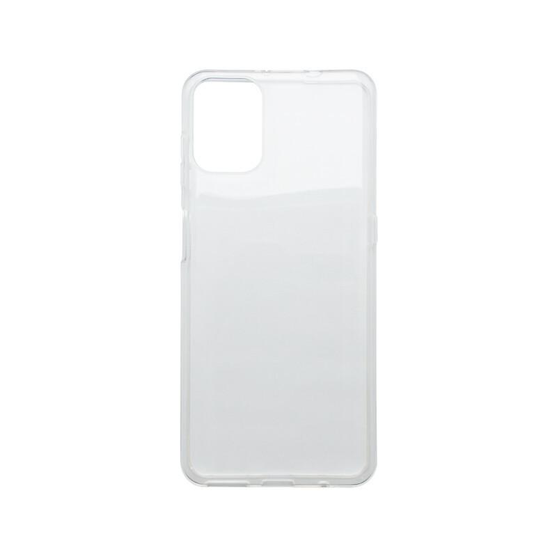 Motorola G9 Plus priehľadné gumené puzdro, nelepivé