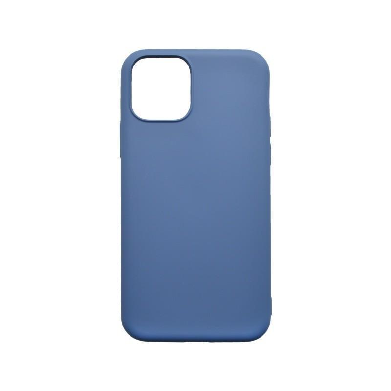mobilNET silikónové puzdro Soft, iPhone 11 tmavomodré