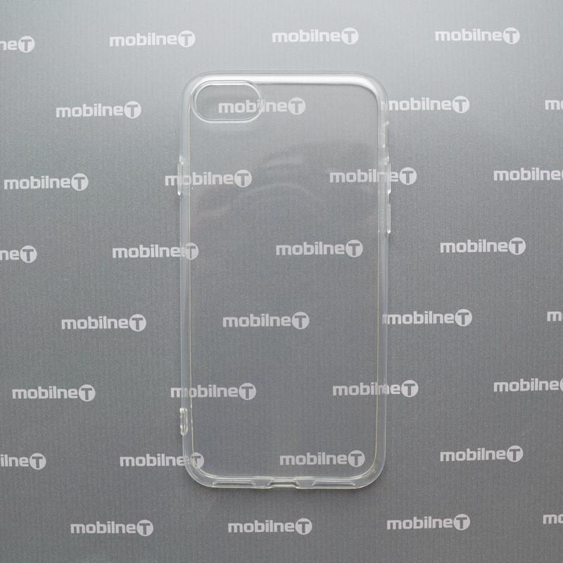 Silikónové puzdro iPhone 7/8 priehľadné, nelepivé