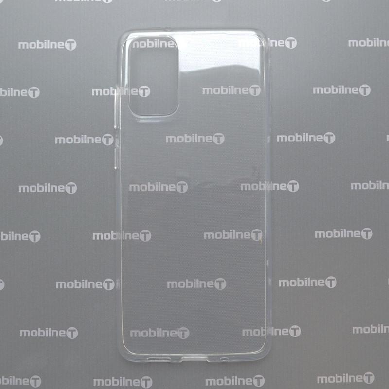 Silikónové puzdro Samsung Galaxy S20 priehľadné nelepivé