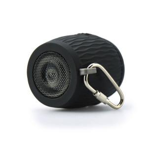 Silicon bluetooth speaker black BLUN waterproof