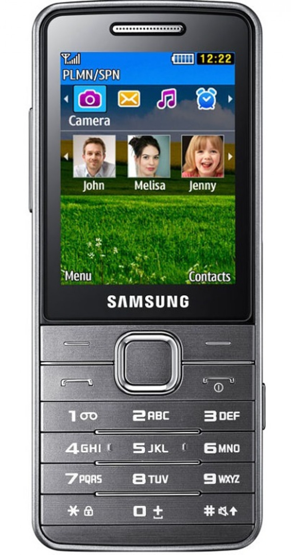 Samsung S5610 Metallic Silver Třída C